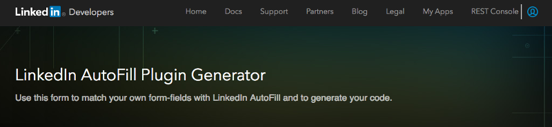 LinkedIn AutoFill Setup Guide Marketing Solutions Help - Legal form generator