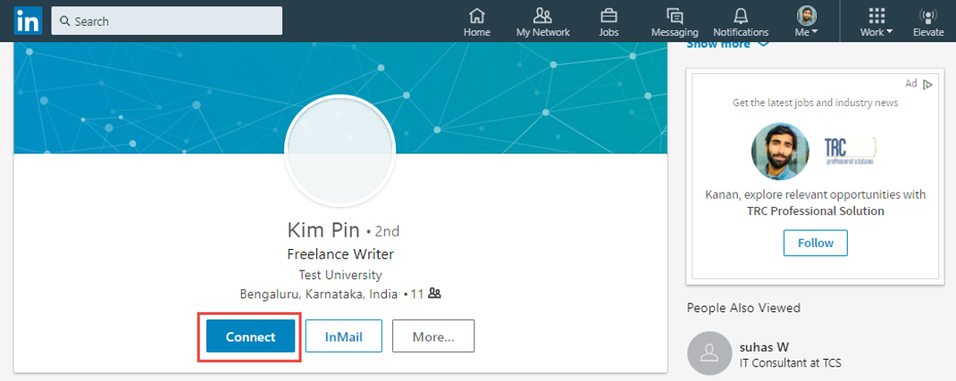 Personalizing invitations to connect linkedin help screenshot stopboris Images