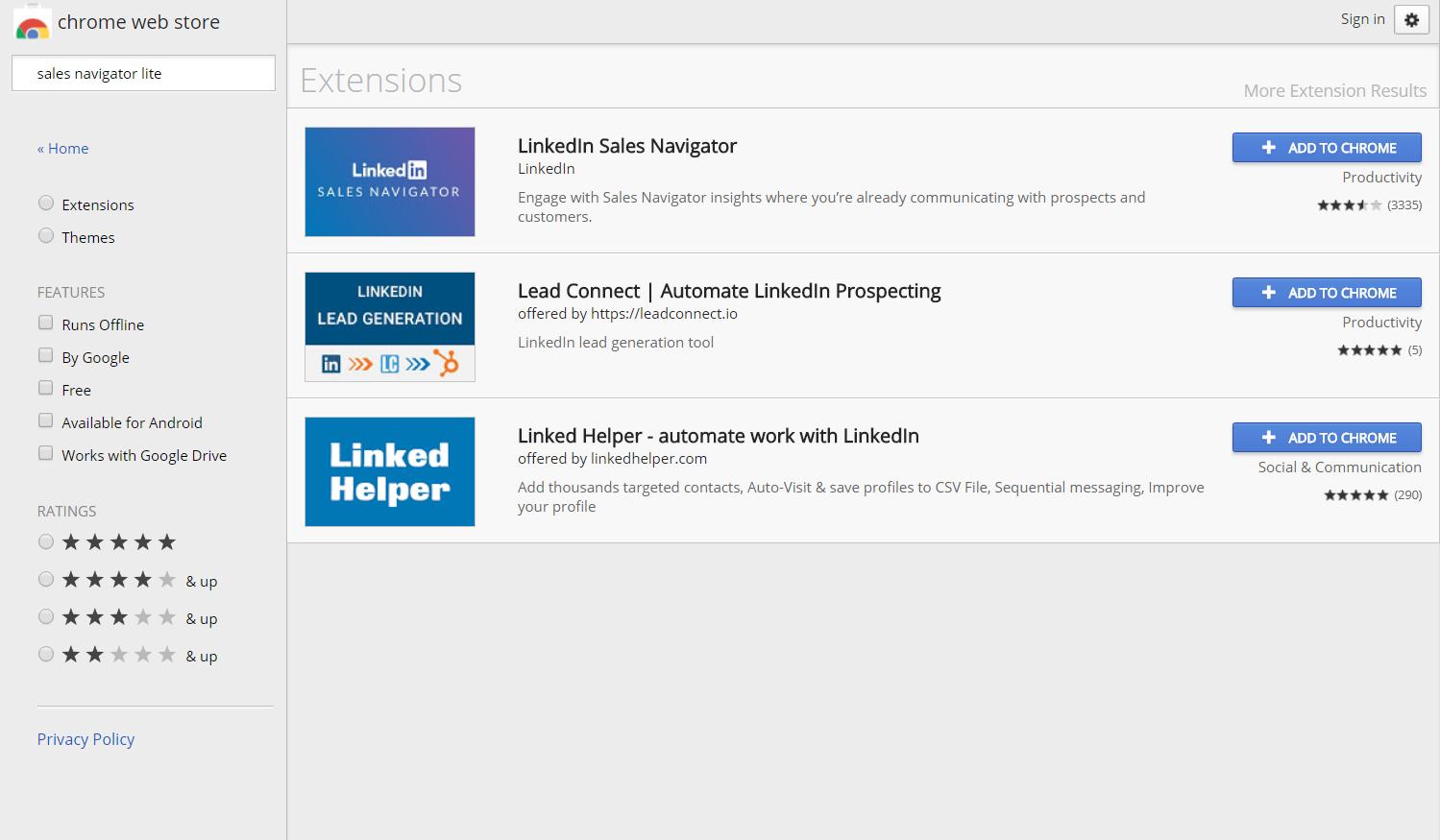 linkedin helper chrome extension